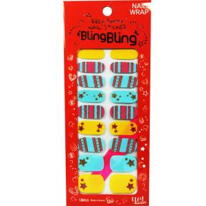 YET BlingBling指甲貼04天際銀河