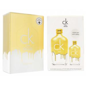 CALVIN KLEIN ONE GOLD中性淡香水禮盒(200ML+50ML)